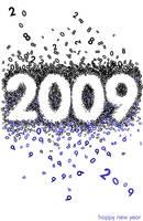 HAPPY NEW YEAR 2009 by liadys
