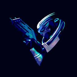 Mass Effect: Garrus Vakarian by liadys