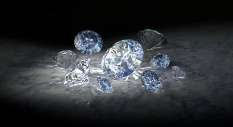 ...Diamonds... by liadys
