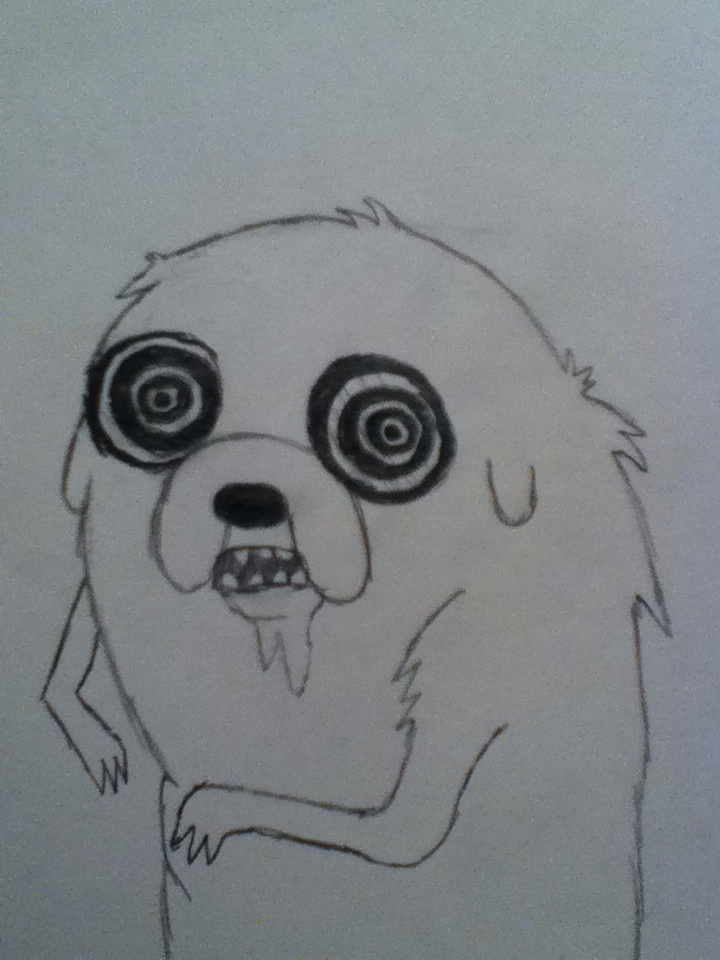 Jake the Rabid Dog by ProsperingMinds