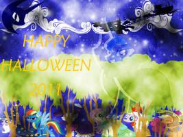 Happy Halloween MLP: FiM style by ArtStude3n2