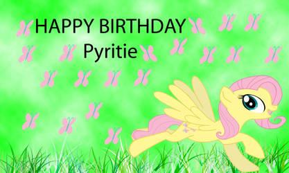 Happy birthday Pyritie