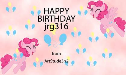 Happy (late) BIRTHDAY jrg316