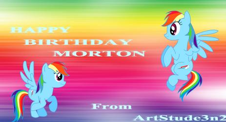 Happy Birthday MORTON