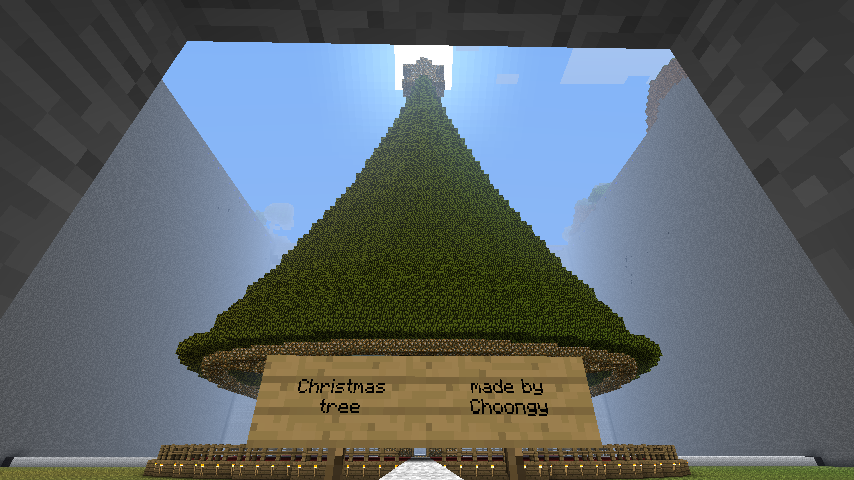 Minecraft Christmas Tree By Mchoo1