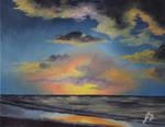 Beach Sunset by authorJDTailor