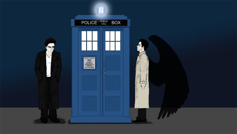 The Angels Have the Phone Box by Taaroko on DeviantArt