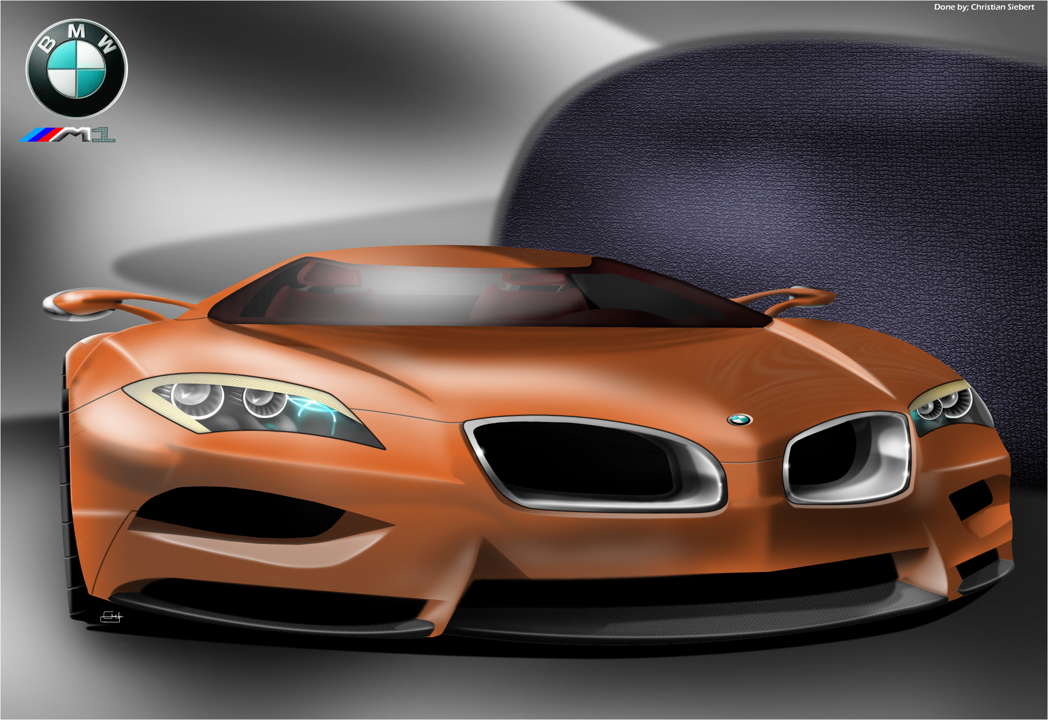 BMW M1 concept by trebeisChrisH on DeviantArt
