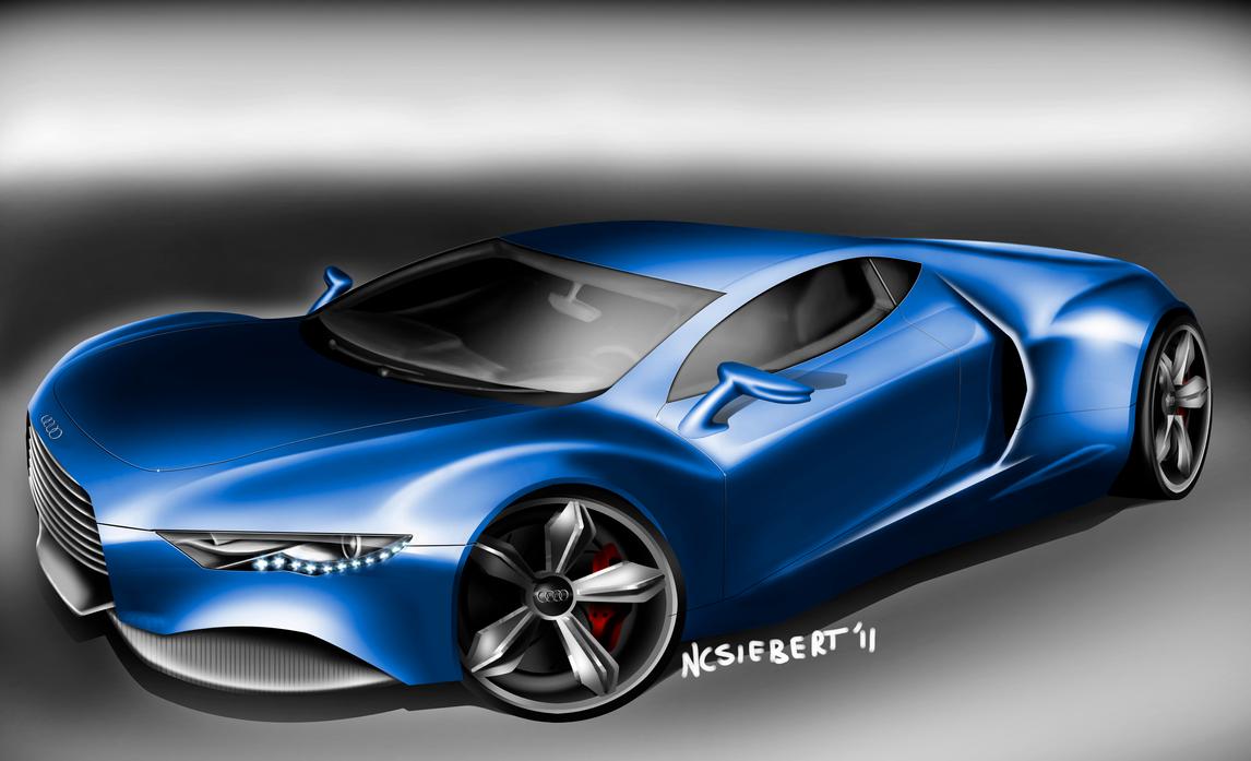 Audi R10 by trebeisChrisH on DeviantArt