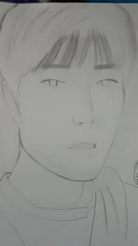 Xiao Zhan sketch