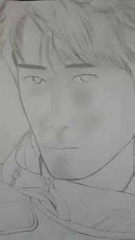 Xiao Zhan bvest sketch