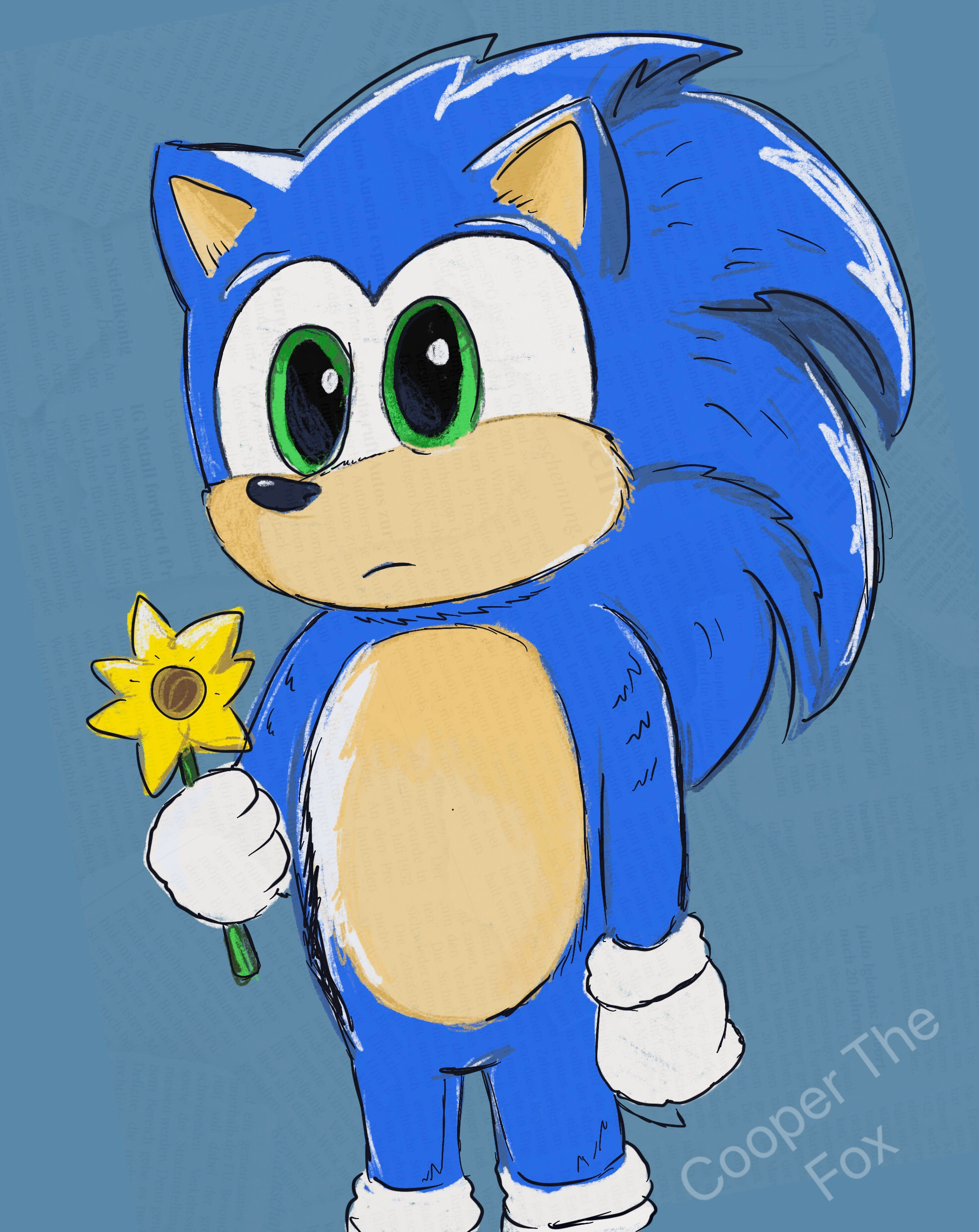 Baby Sonic By Doodling Daydreamer On Deviantart