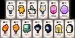 Adventure Time keybies by keybiecafe
