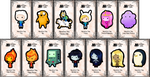 Adventure Time keybies by keybiecafe