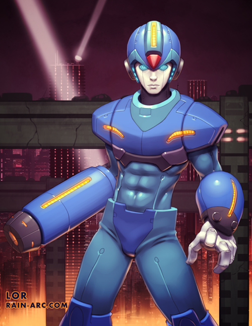 Megaman Tribute  - Megaman X by LorBot