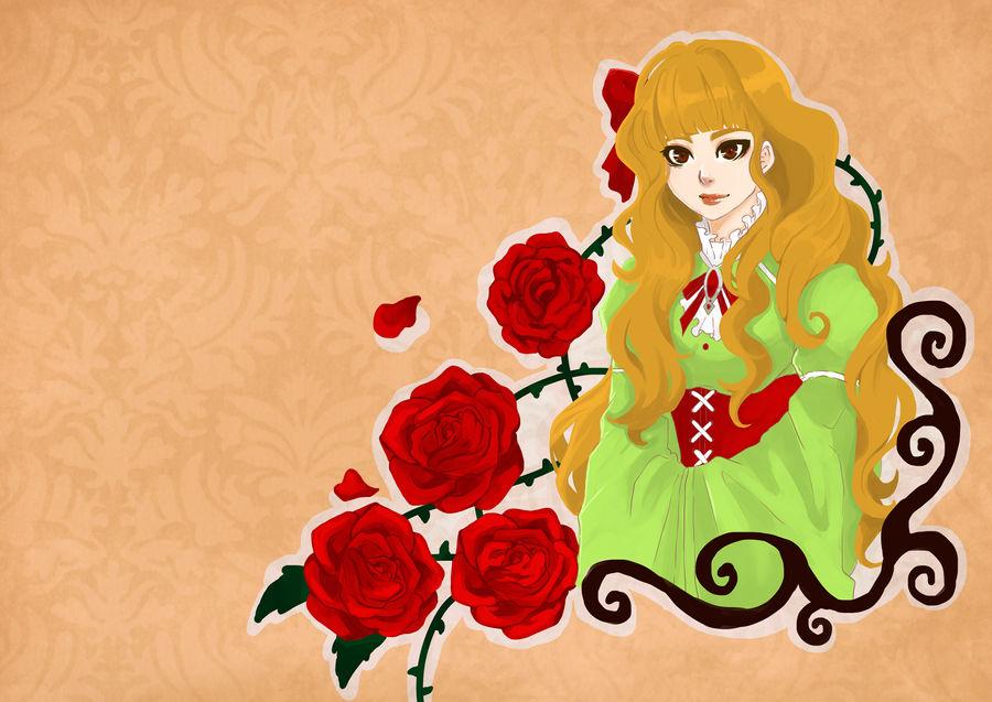 La gardienne des roses