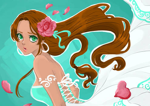Flower's bride