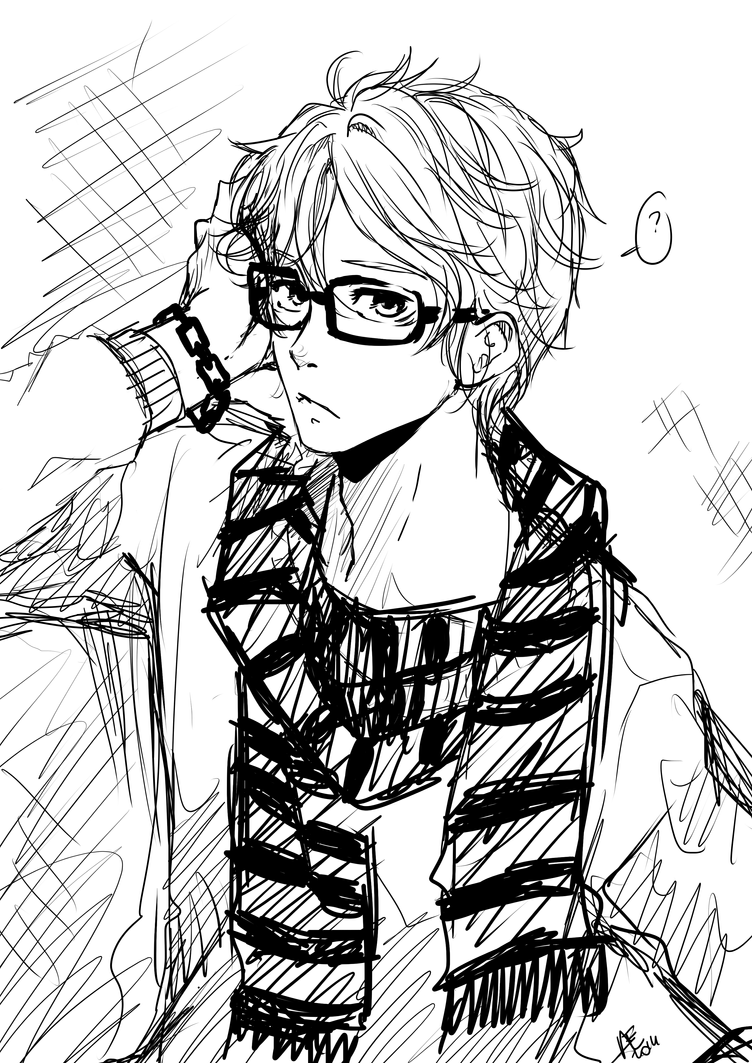 Sketch#boy By Art-of-Kawaii On DeviantArt
