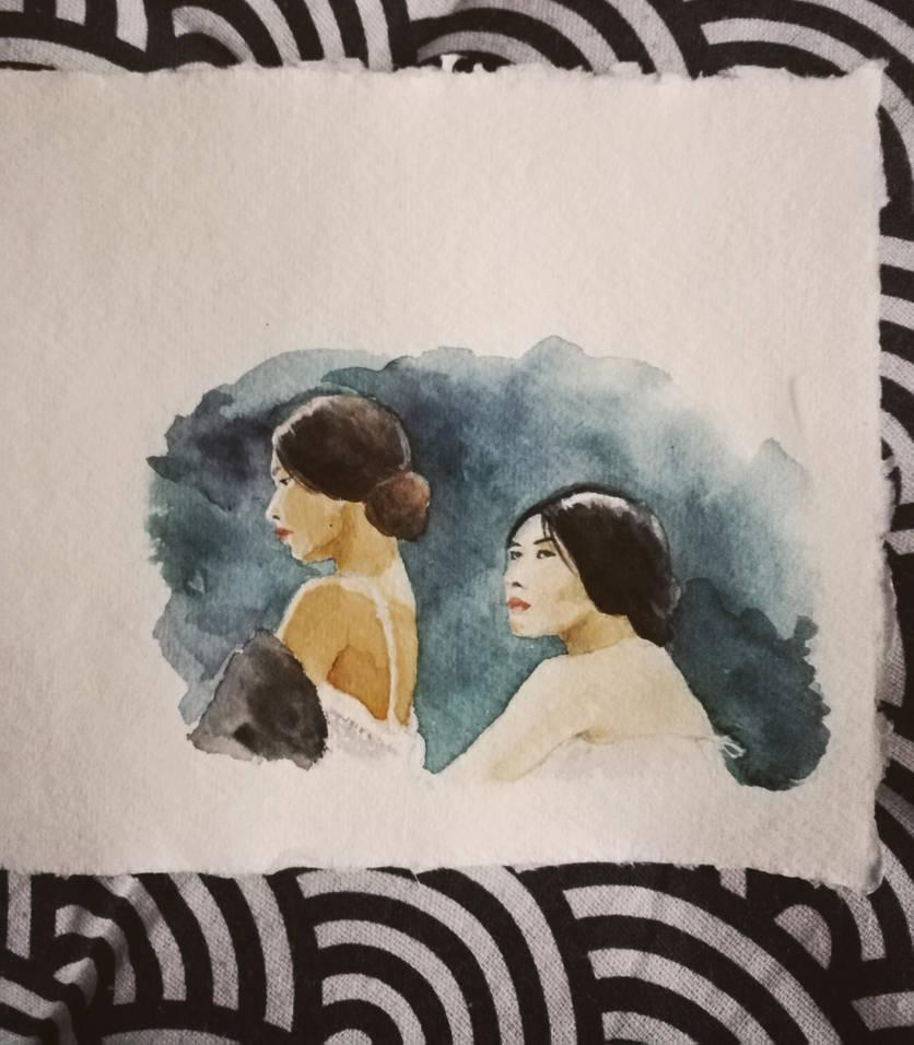 the handmaiden by AdharaPhoenix