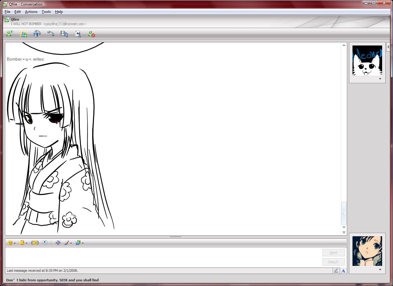 some msn jigoku shoujo drawing by Kouken