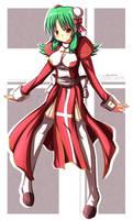 RO High Priestess CG by MightyLeafy