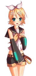 Rin PNG by MightyLeafy