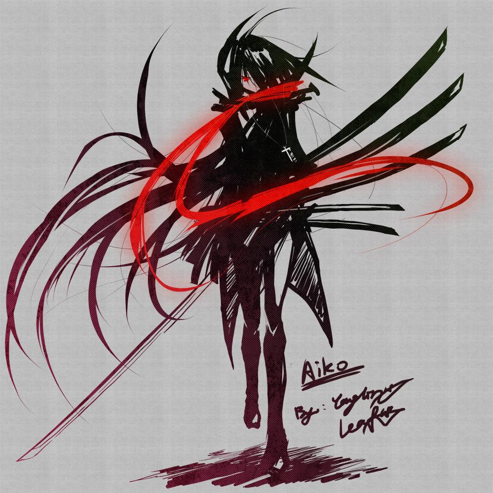 & Your Virtual Life - Wilbur Way Character_Design___Aiko_by_Kouken