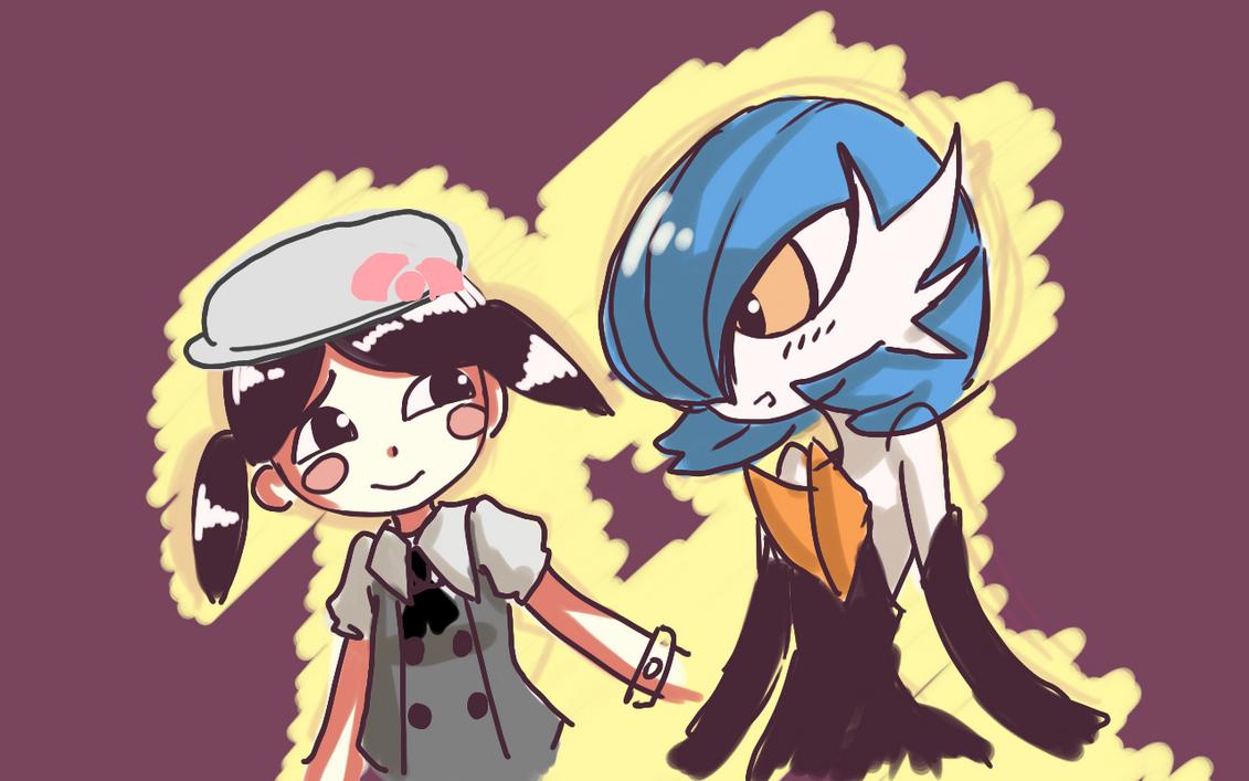 Pokemon - Mii and Gardevoir by Kouken