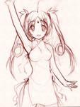 ChineseNewYear - Pencil Sketch