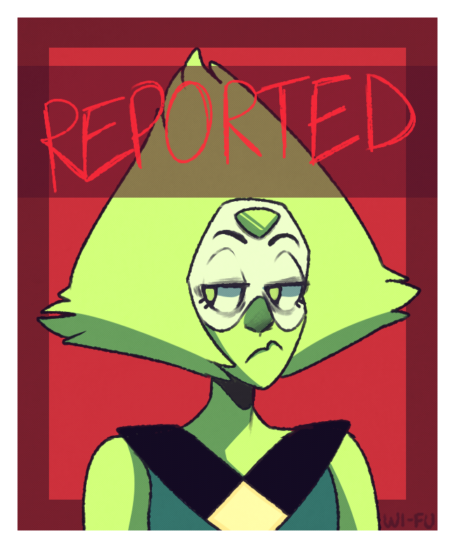 i need to quit drawing peridot