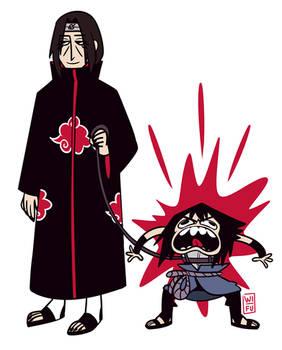 Please Don't Feed The Sasuke
