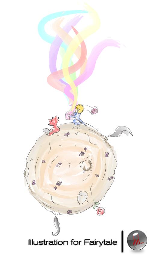 ILUSTRACION CUENTO INFANTIL by sanmerol