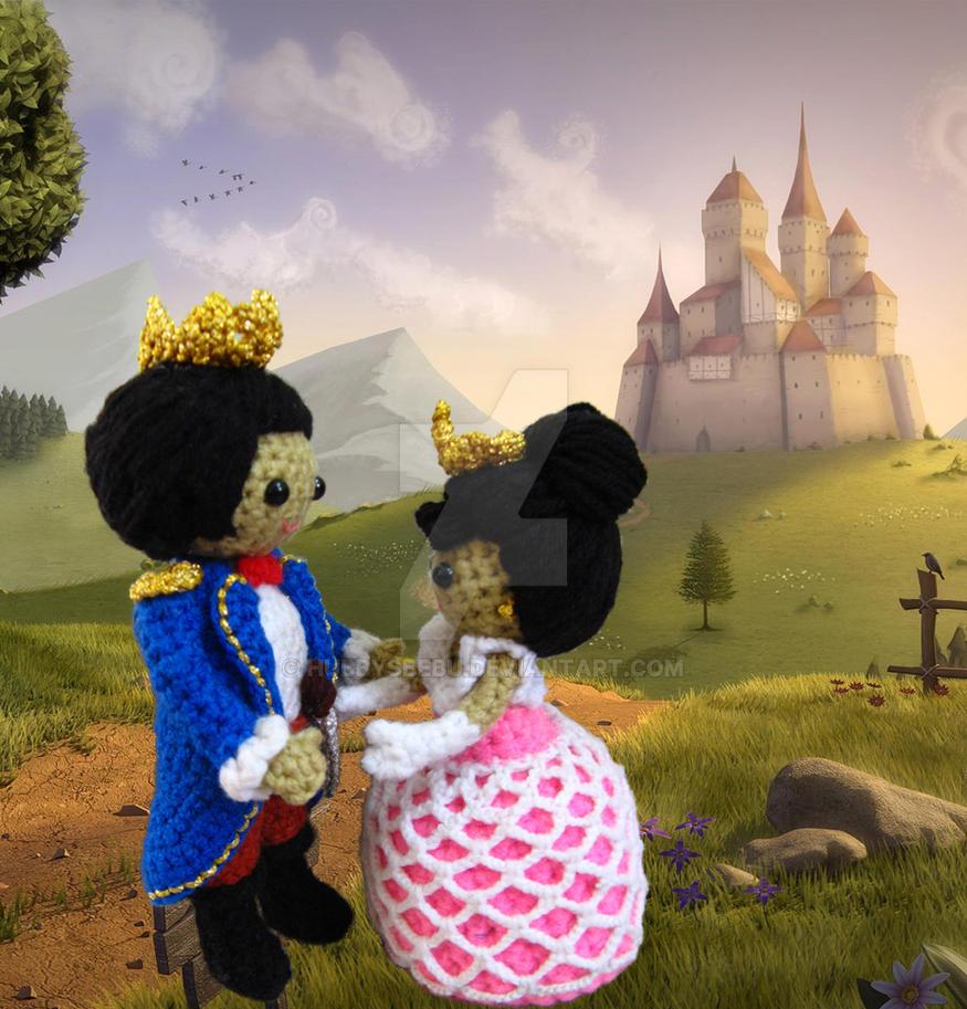 Little Prince Amigurumi Free Pattern : Amigurumi prince and princess crochet pattern by ...
