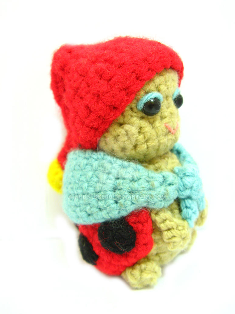 Amigurumi Lady bird bug crochet pattern PDF by hubbysbebu on DeviantArt