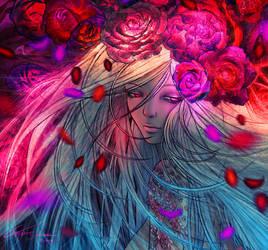 Full Bloom - Close-up by Mustesielu