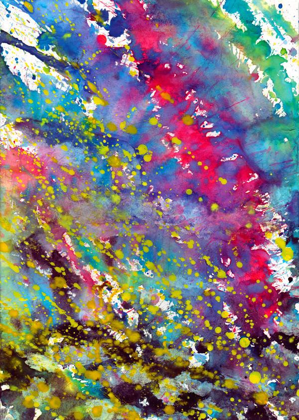 Texture - Watercolor 01 by Mustesielu