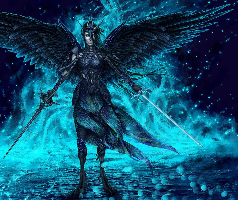 Dark Souls - Velka by Mustesielu