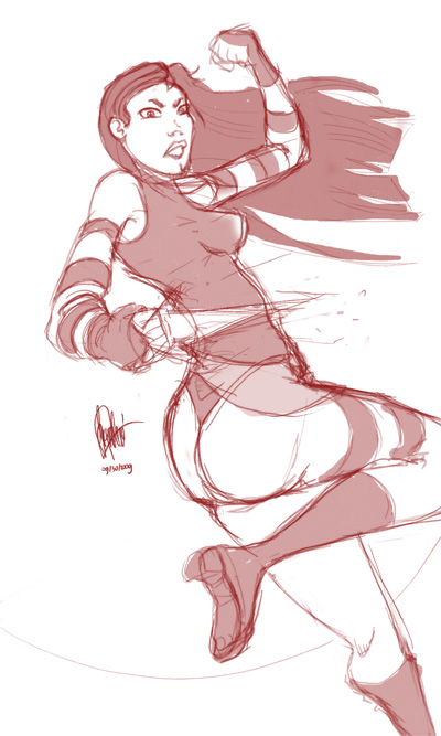 Halloween Jam 2009: sketch1 by DaCommissioner