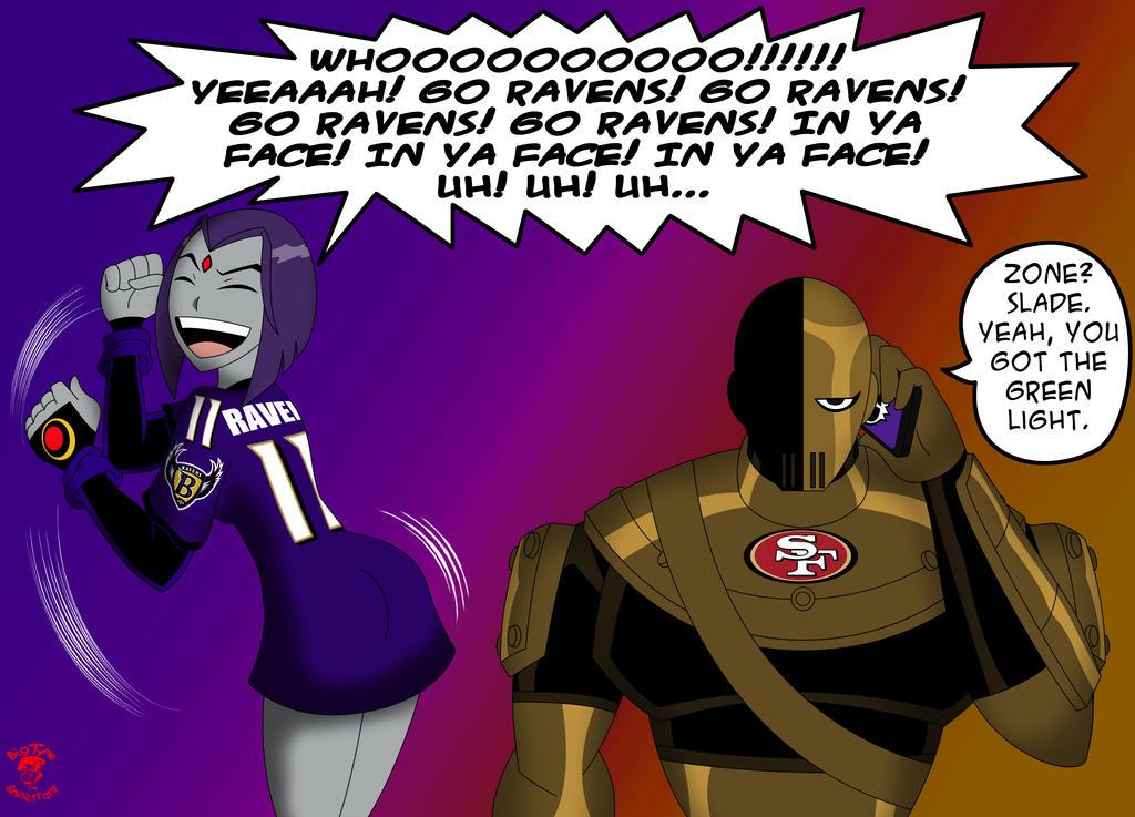 Raven Super Bowl Commish 2 by CDB2
