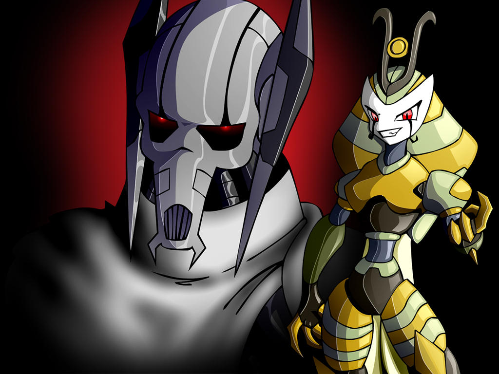 Vexus and Grievous by CDB2