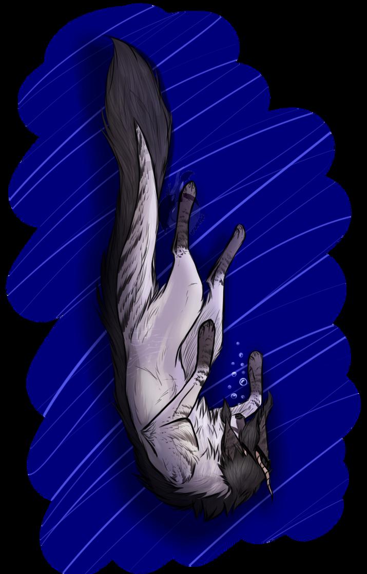 Falling [ Speedpaint ] by RenaiRoa