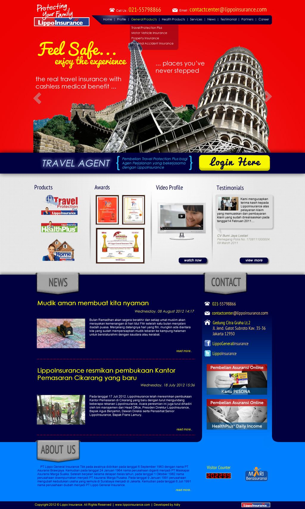 Lippo Group Website 47