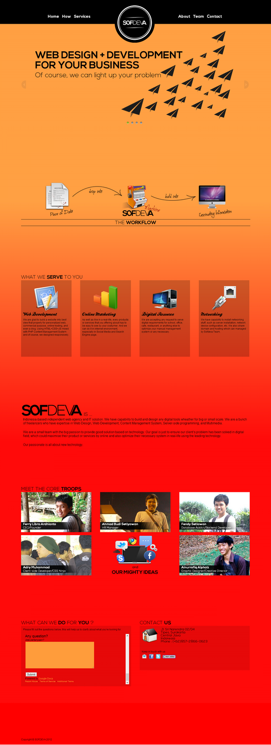 Sofdeva - Web Design + Web Development Agency - IT