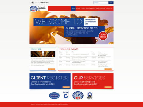 TCL certifications ~ website