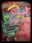 Robot Slum Quarter by Flatau