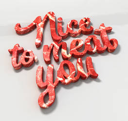 Letter Meat _ Nice to meet you