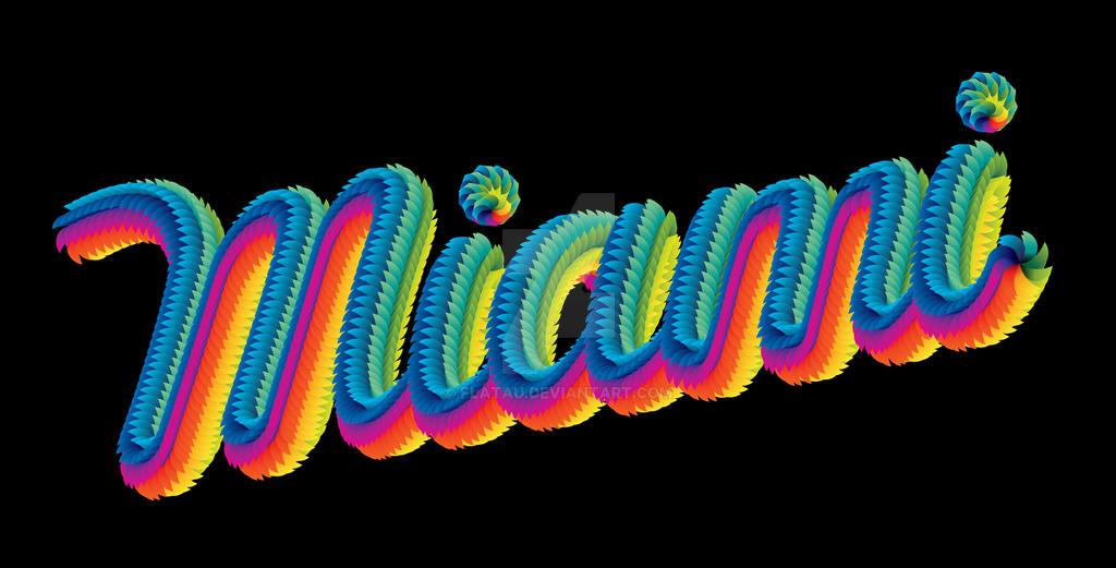 Miami Type by Flatau