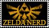 Zelda Nerd Stamp by Magica-28