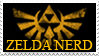 Zelda Nerd Stamp by Magica-28