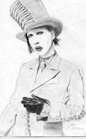 Marilyn Manson by h-a-r-l-e-k-i-n